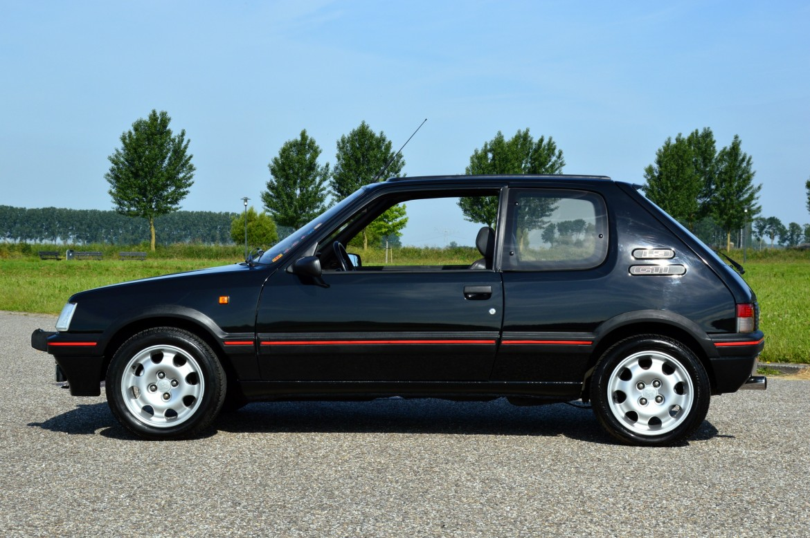 peugeot 205 gti lex classics. Black Bedroom Furniture Sets. Home Design Ideas