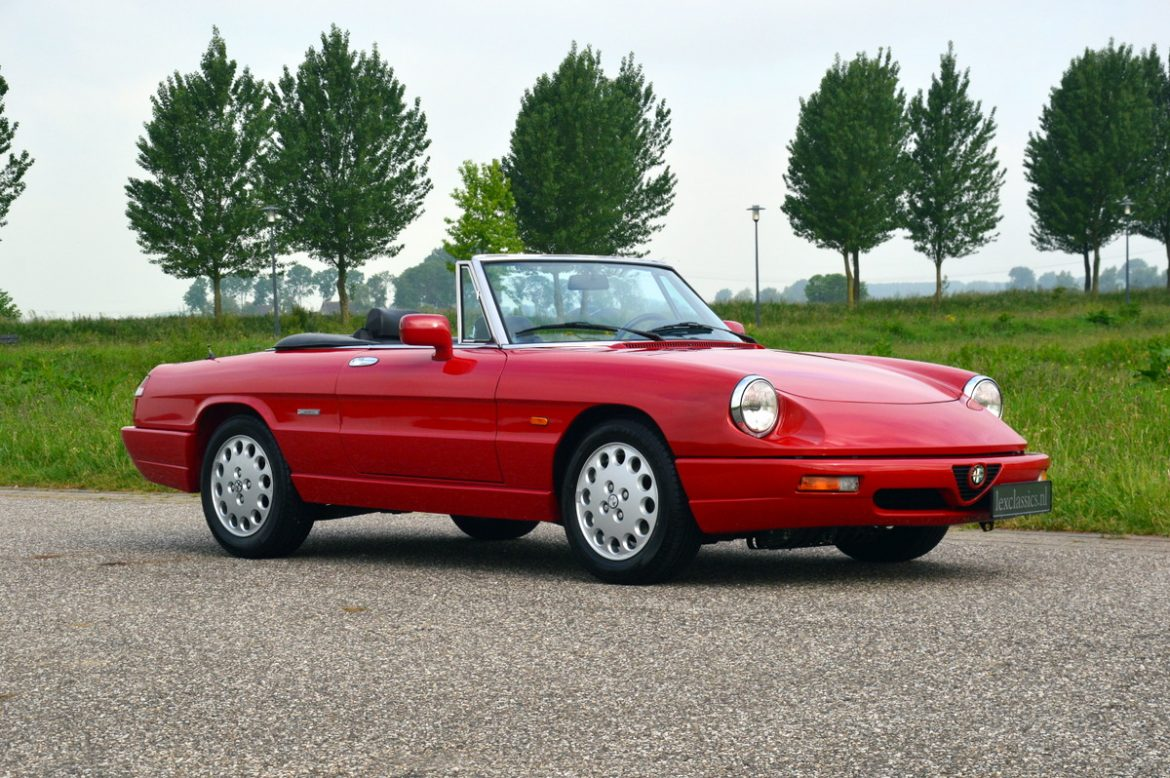 Alfa Romeo Spider Model Cars