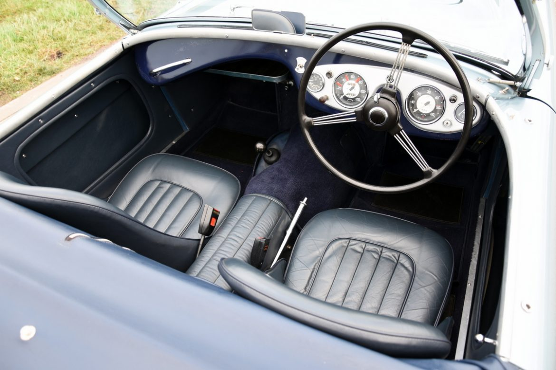 Interieur Ice Blauw : Austin healey 100 4 bn1 kopen? bel lex classics waalwijk 0416 342 474